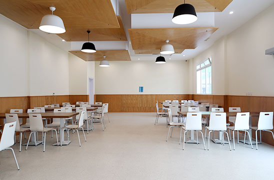 Cafeteria At Alpha Cambridge School Doha Qatar